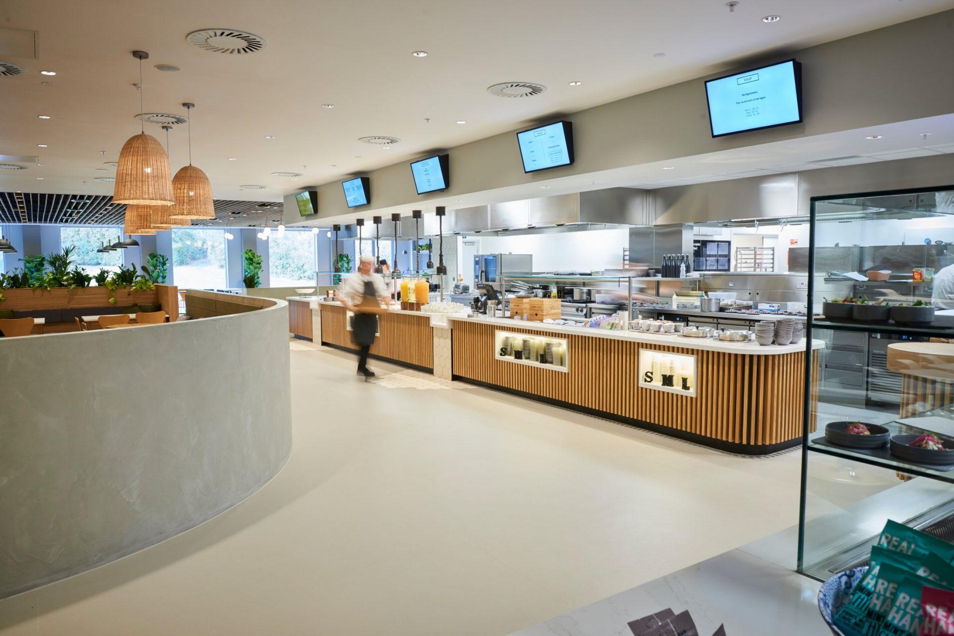 Pharmaceutical Office Cafeteria Interior Design Edge Dpm